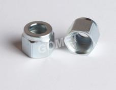 Гайка M14x1 / Ø10 - Трубы ПВХ - сталь