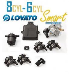Комплект точечного впрыска Lovato Easy Fast C-OBD-II SHP (6 цилиндров)