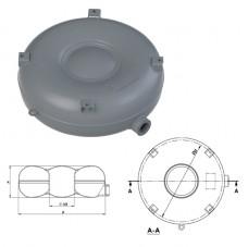 Балон тороидальный полнотелый наружный  D.680 H.180 52 л