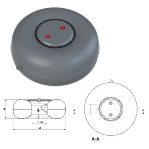 Балон тороидальный внутренний D.600 H180 38 л